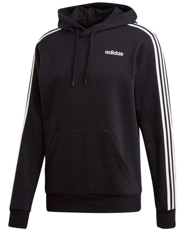 Adidas Essentials 3 Stripes Kapuzenpullover mit Kängurutaschen für 30,44€ inkl. Versand (statt 42€)