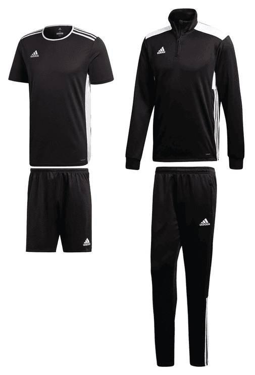 4-tlg. Adidas Trainingsset Regista 18 (versch. Farben) für je 45,95€ (statt 63€)