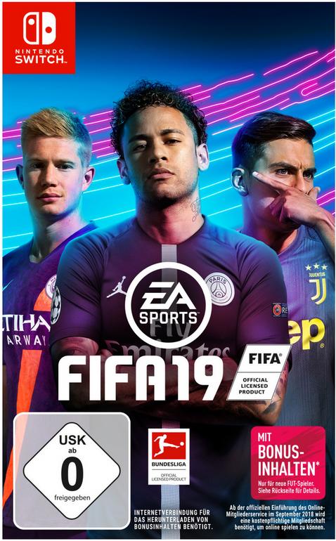 FIFA 19 (Nintendo Switch) für 29,99€ inklusive Versandkosten (statt 34€)