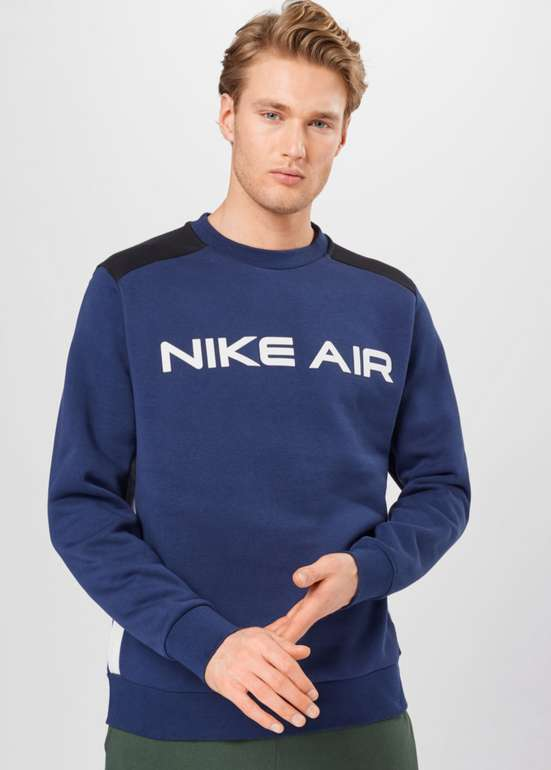 Nike Sportswear Air Crew Herren Sweatshirt in Navy für 25,90€ inkl. Versand (statt 39€)