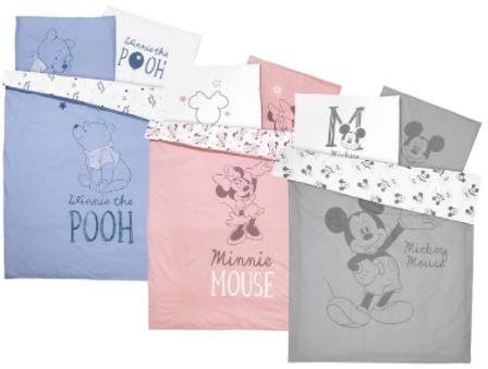 Lidl: Disneybettwäsche in verschiedenen Farben für 14,94€ inkl. Versand