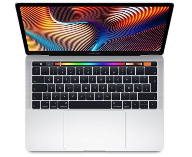 Apple MacBook Pro 13″ (Modell 2018) mit 512GB SSD und 8 GB RAM für 1840€