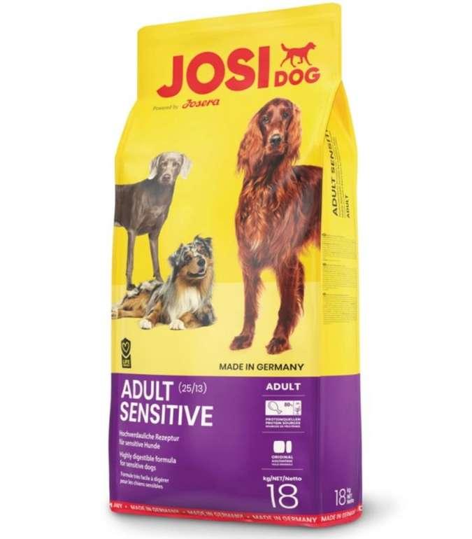 18 kg JosiDog Adult Sensitive Hundefutter für 29,09€ inkl. Versand (statt 34€)