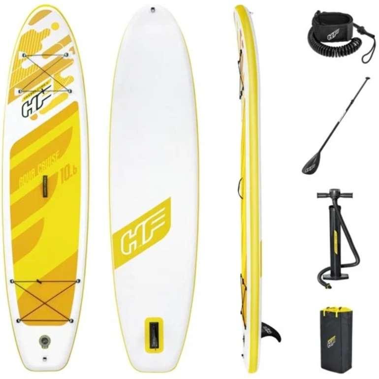 """Bestway Hydro-Force SUP Stand Up Board """"Aqua Cruise"""" Set (Maße 320x76x12 cm, bis 110 kg) für 199,94€"""