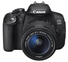 Canon EOS 700D 18MP SLR Digitalkamera mit Objektiv +UV Filter etc. für 479€