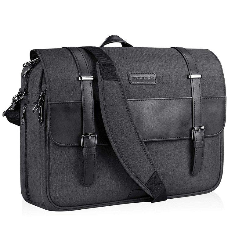 Kroser - 15,6 Zoll Laptop Messenger Bag Schultertasche für 19,49€ inkl. Versand