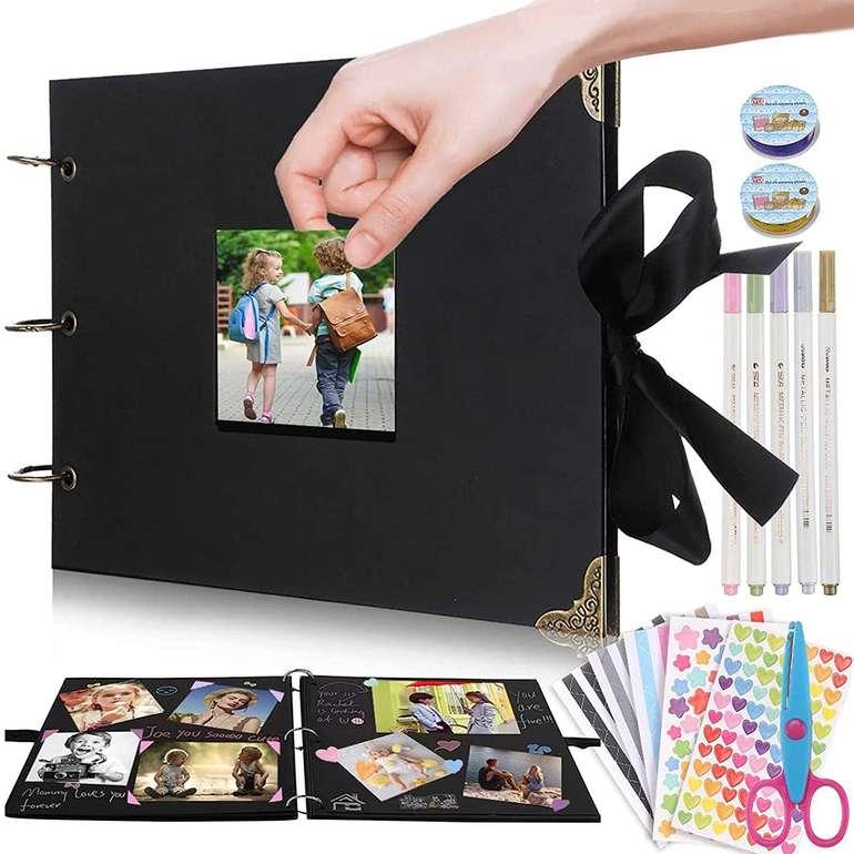 Letfit Fotoalbum zum Selbstgestalten (80 Seiten, 30 x 20 cm) für 6,39€ inkl. Versand (statt 16€)
