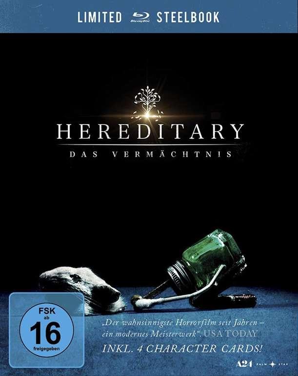 Hereditary - Das Vermächtnis (Limited Steelbook Blu-ray) für 9,99€ inkl. Versand (statt 19€)