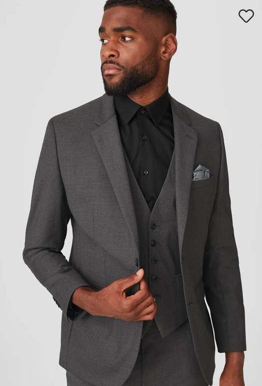 C&A Herren Baukasten-Sakko Tailored Fit in schwarz für 29,99€ inkl. Versand (statt 80€)