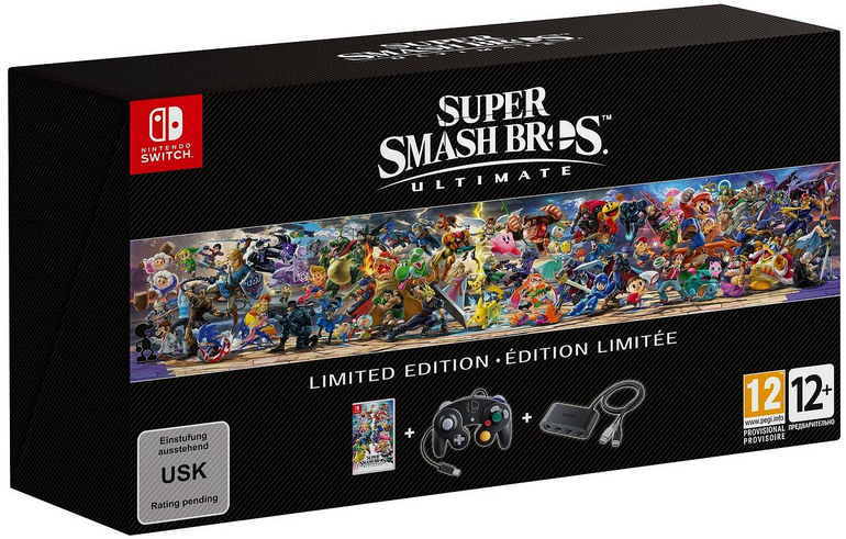 Super Smash Bros. Ultimate Limited Edition (Switch) für 88€ (statt 99,99€)
