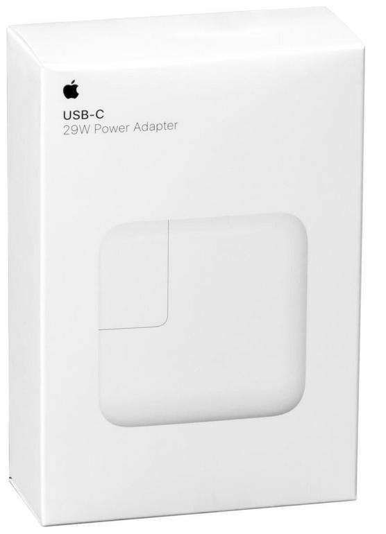 """Apple 29W USB-C Netzteil MJ262Z/A + Kabel (MacBook 12"""") für 29,69€ inkl. VSK"""
