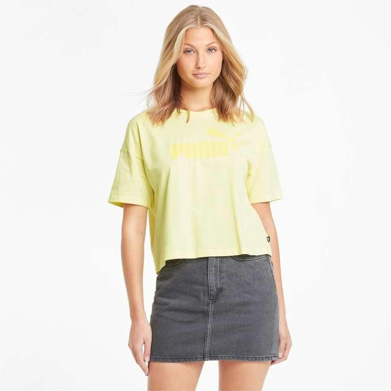 Puma Essentials Logo Cropped Damen T-Shirt für 11,16€ inkl. Versand (statt 15€)