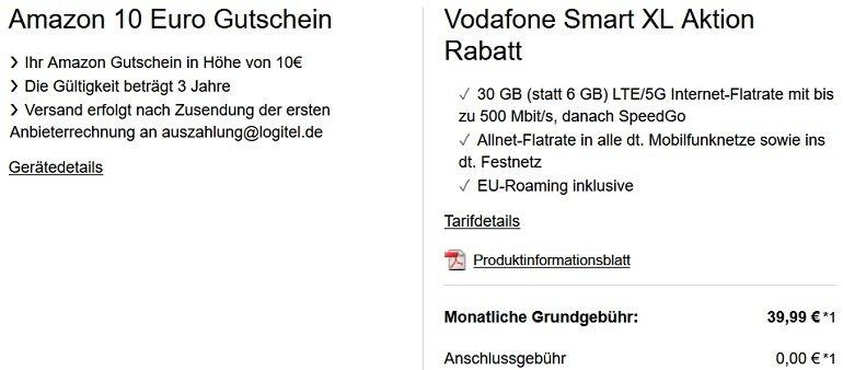 Xiaomi Mi 11 5G 256GB Vodafone Allnet-Flat mit 30GB LTE 5G