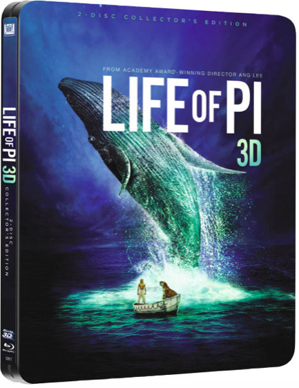 Life of Pi - Schiffbruch mit Tiger (Blu-ray) für 3,67€ inkl. Versand