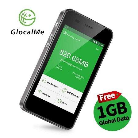 GlocalMe G3 4G LTE mobiler Hotspot mit integrierter Powerbank für 109,99€