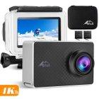 """Wasserdichte BFull 20MP 4K Action Cam mit 2,45"""" Touchscreen für 60,89€"""