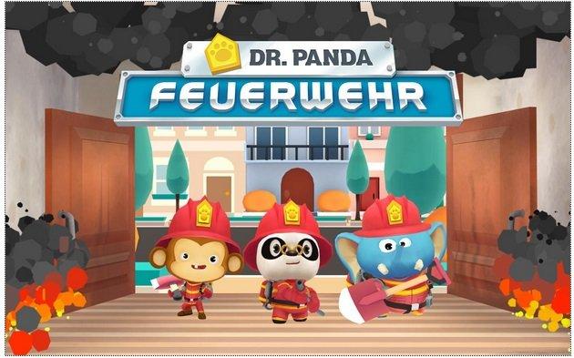 Dr. Panda Feuerwehr kostenlos für iOS & Android statt 3,49€