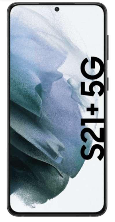 Samsung Galaxy S21+ 5G mit 128 GB (89€) + Vodafone Smart L Allnet Flat 15GB LTE für 34,99€mtl.