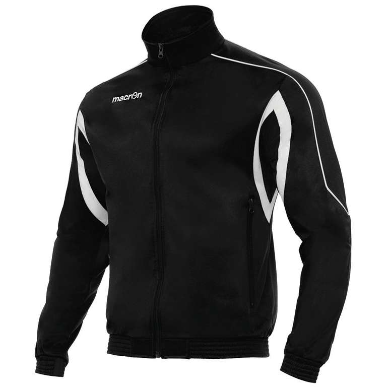 macron Era Full Zip Trainingsjacke in Schwarz für 8,45€inkl. Versand (statt 17€)