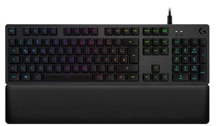 Logitech Tiefpreisspätschicht z.B. G513 Mechanische RBG Gaming Tastatur für 119€