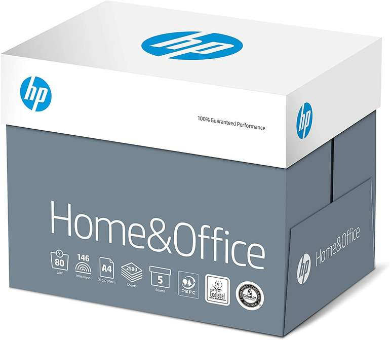 Fehler? 2500 Blatt HP Kopierpapier CHP150 Home & Office, DIN-A4 80g, Weiß für 7,70€ - Prime!