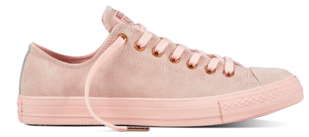 Chuck Taylor All Star Suede in Vapor Pink/Blush Gold/Mouse ab 27,49€ (statt 48€)