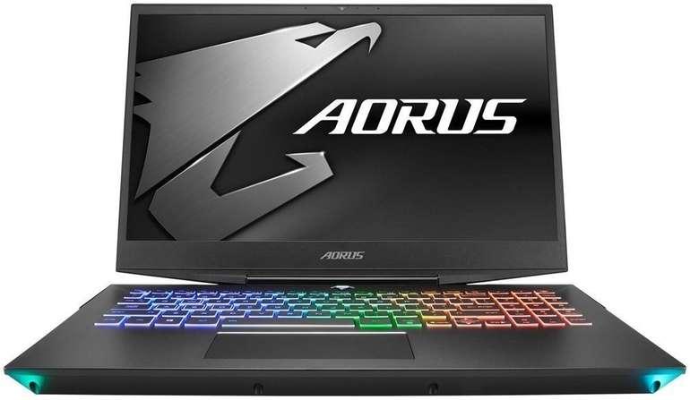 """Gigabyte AORUS 15-W9-7DE0252W - 15.6"""" Gaming Notebook mit i7 & RTX 2060 6.0GB für 1.394€ (statt 1.617€)"""