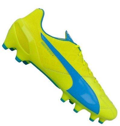 Top12: Puma Fußballschuhe im Angebot, z.B. evoSPEED 1.4 Leder FG für 27,24€ (statt 40€)