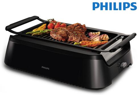 Philips HD6370/90 Elektrogrill, Schwarz für 138,90€ inkl. Versand (statt 230€)