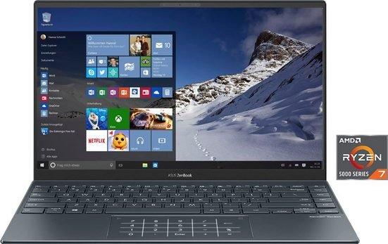 Asus UM425UA-KI224T Notebook mit 14 Zoll (AMD Ryzen 7, Radeon R 7, 512 GB SSD) für 892,78€ inkl. Versand