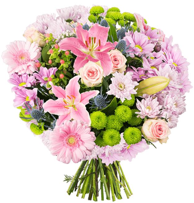 Blume Ideal: Blumenstrauß aus Lilien, Rosen und Co. für 24,98€ inkl. Versand