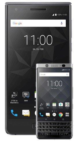 BlackBerry Motion + KeyOne für 79€ + Vodafone Allnet inkl. SMS mit 1GB zu 24,99€