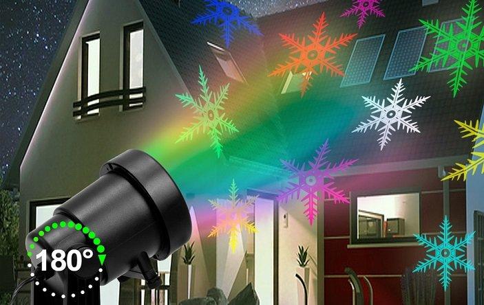 Westerholt LED Hausprojektor mit verschiedenen Lichtdesigns für 19,95€