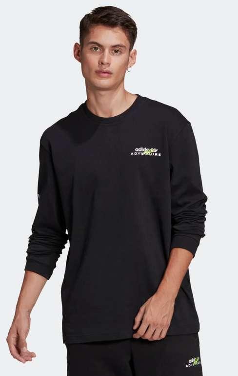 Adidas Originals Adventure Shirt in schwarz für 12,95€ inkl. Versand (statt 28€)