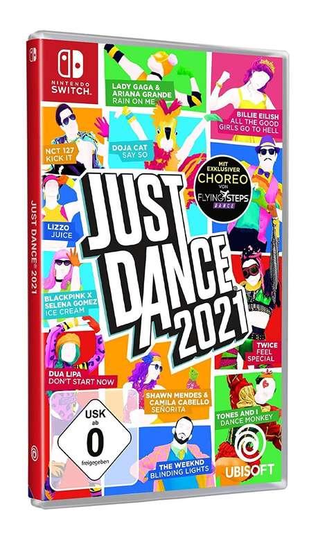 Just Dance 2021 (Switch) für 35,40€ (statt 39€)
