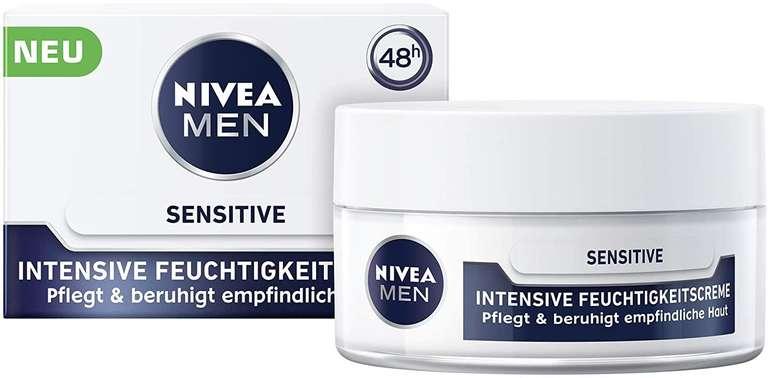 4er Pack Nivea Men Feuchtigkeitscreme (50ml) für 9,87€ inkl. Prime Versand (statt 25€) - Spar-Abo