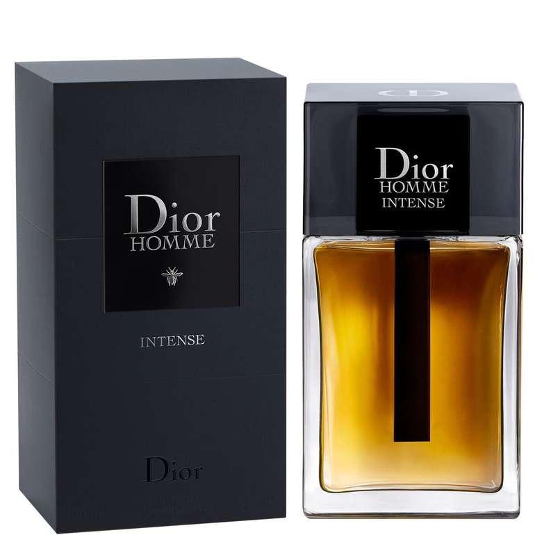 150 ml Dior Homme Intense Eau de Toilette Spray für 79,91€ inkl. Versand (statt 96€)