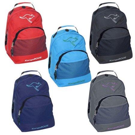 KangaROOS Rucksack in 5 Farben mit 15l Volumen für je nur 9,99€ (statt 18€)