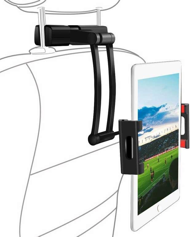 Sawake Tablet-Halterung fürs Auto (verstellbar, 360° drehbar) für 13,99€ inkl. Prime Versand (statt 20€)