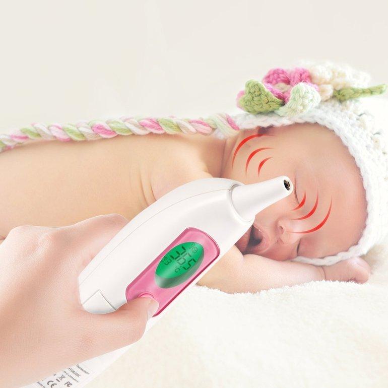 Nursal Baby Infrarot Ohr-Fieberthermometer für 14,99€ (statt 20€)