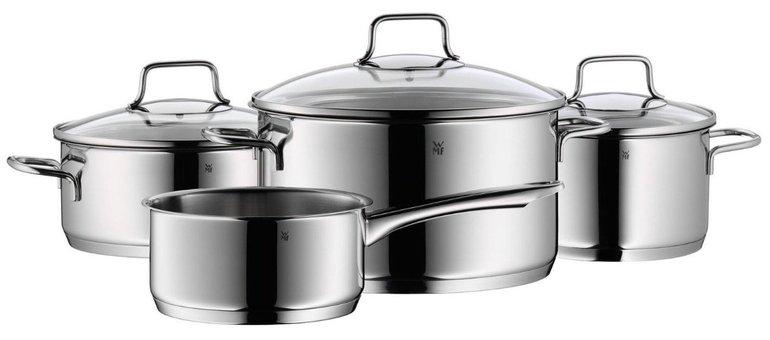 3 WMF Astoria Töpfe mit Deckel + 1 Stielkasserolle für 74,99€ inkl. Versand