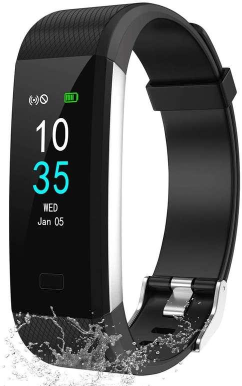 Lebexy Fitness Armband (IP68, Schrittzähler) für 9,99€ inkl. Prime Versand (statt 13€)