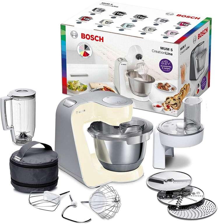 Bosch MUM5 MUM58920 CreationLine Küchenmaschine (3,9L Rührschüssel) für 140,42€ inkl. VSK
