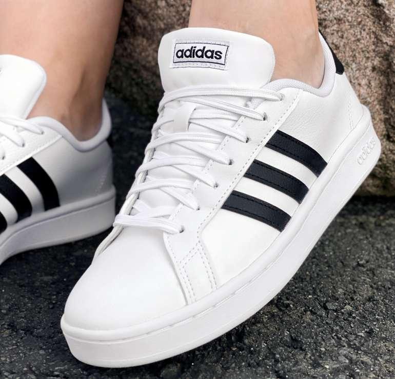 Adidas Damen Sneaker Grand Court in Weiß für 33,94€inkl. Versand (statt 50€)