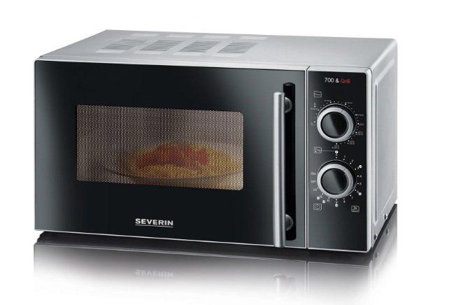 Severin MW 7875 – 700W Microwelle mit Grill für 59,99€ inkl. Versand (statt 70€)