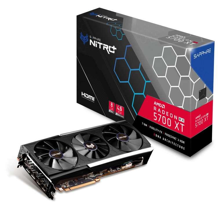 Sapphire Radeon RX 5700 XT Pulse 8 GB High End Grafikkarte für 368,10€ inkl. Versand (statt 409€)