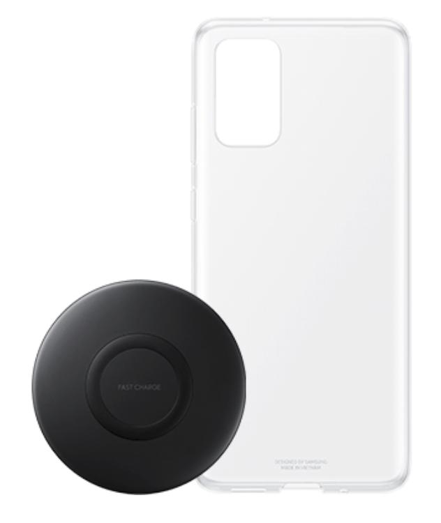 Samsung Clear Cover (S20+) und Wireless Charger Pad EP-P1100 für 9,98€ inkl. Versand (statt 35€)