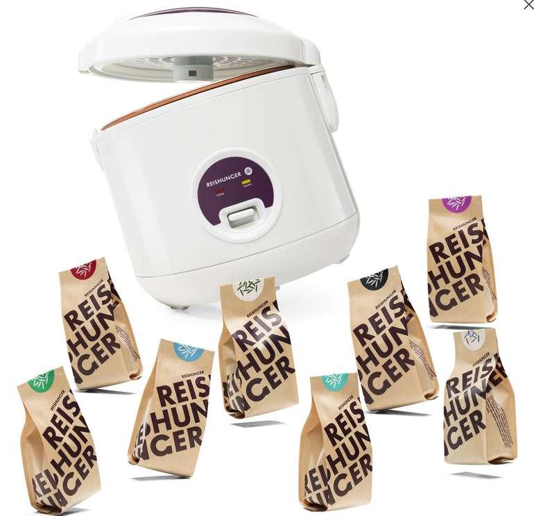 Reishunger Reiskocher 500W 1,2L + Finde deinen Lieblingsreis Set für 29,99€inkl. Versand (statt 40€)
