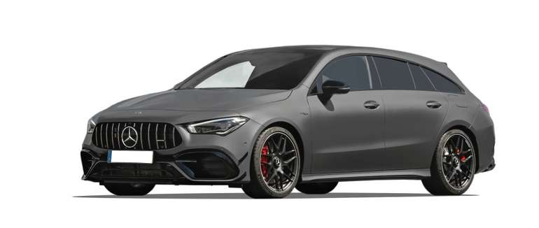 Gewerbe: Mercedes-Benz CLA 45 S AMG Shooting Brake ab 389€ Netto mtl. leasen