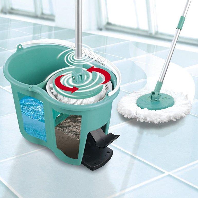 CLEANmaxx Power Wischmop mit Eimer für 24,99€ inkl. Versand (statt 30€)